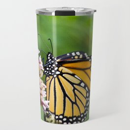 Colorful Monarch Butterfly Travel Mug