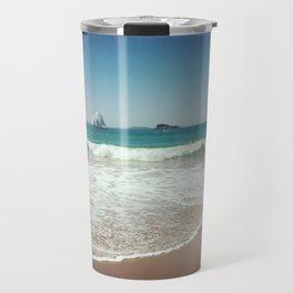 Hahei Beach, Coromandel, New Zealand Travel Mug