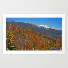 Mount Washington Art Print