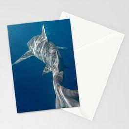 Peaceful Lemon Shark Stationery Cards