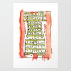LACEDRESS. Art Print