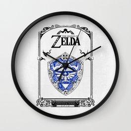 Zelda legend - Hylian shield Wall Clock