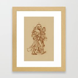 Yondu, Peter & Kraglin Framed Art Print