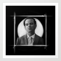 moriarty Art Prints featuring Moriarty by aizercul