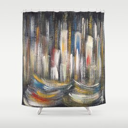 Policromic one Shower Curtain
