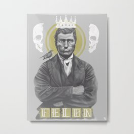 Selfsame Felon Metal Print