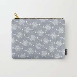 Snowflakes 3 Carry-All Pouch