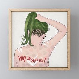 Joker Framed Mini Art Print