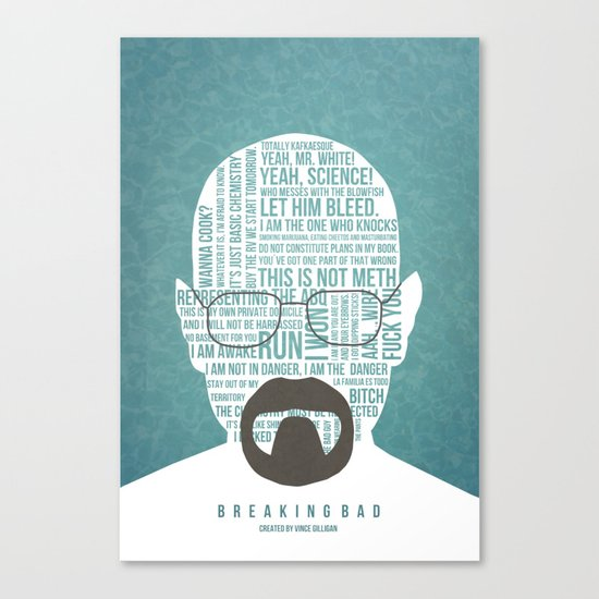 Walter White said Canvas Print