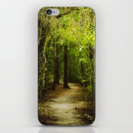 Louisiana Forest, Spanish Moss iPhone Skin