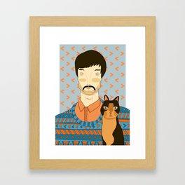 THE FURRIES #06 Framed Art Print