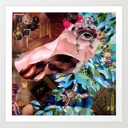 """""""An American Dodo in Paris""""  Art Print"""