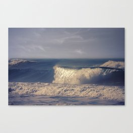 A Perfect Wave Canvas Print