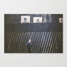 Black Wall Canvas Print