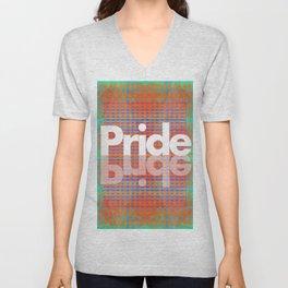 My Pride Flag (A Brilliant Tapestry) Unisex V-Neck