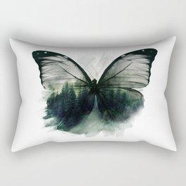 Double Butterfly Rectangular Pillow