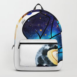 Planets love. Backpack