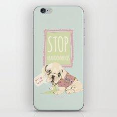 Stop abandonments! iPhone & iPod Skin
