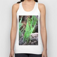 fern Tank Tops featuring fern by  Agostino Lo Coco