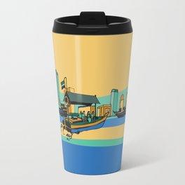 Abra on Dubai Creek Travel Mug
