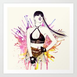 Strong Female Art Print