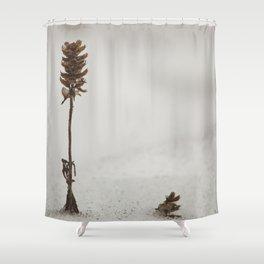 Desolated Shower Curtain