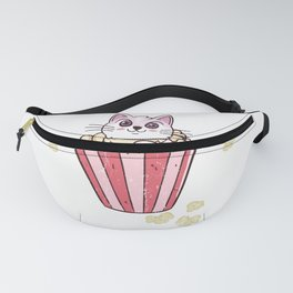 Kitty And Popcorn Fanny Pack