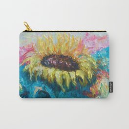 Sunny Flower by Lena Owens Carry-All Pouch