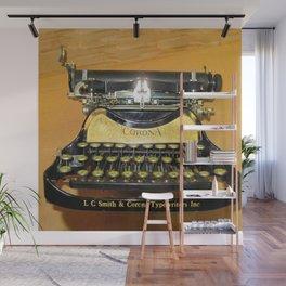 corona vintage typewriter Wall Mural