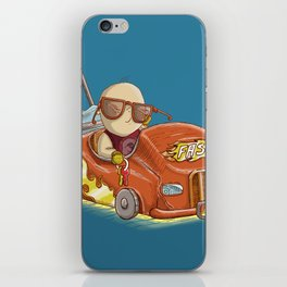 Not allow to be furious... iPhone Skin