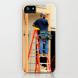 The Ladder Of Choice iPhone Case