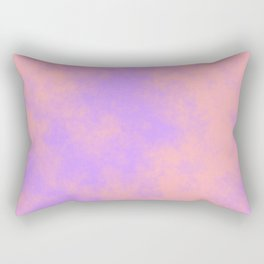 Cotton Candy Clouds - Pink & Purple Rectangular Pillow