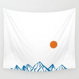 Napoleon Mountain Wall Tapestry