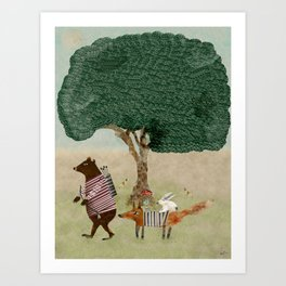 summers adventure Art Print