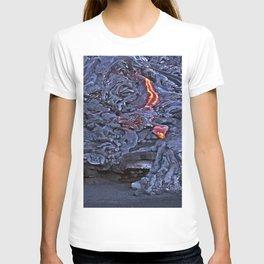 Kilauea Volcano Lava Flow. 2 T-shirt