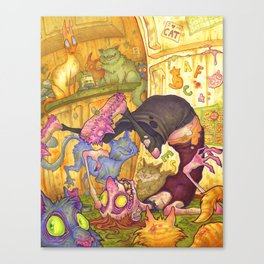 There is No Such Thing as Too Many Cats Canvas Print