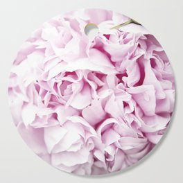 pink peony Cutting Board