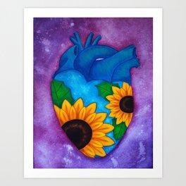 sunshine of my heart Art Print