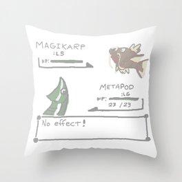 epicBATTLE Throw Pillow