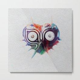 Majora's Mask Metal Print