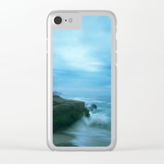 Ethereal Ocean Clear iPhone Case