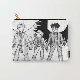 Victuuri good omens au Carry-All Pouch