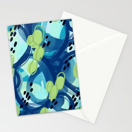 Abstract Oceana Stationery Cards