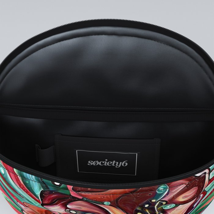 Colorful Floral Abstract Fanny Pack