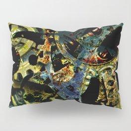 Tina's Steampunk Gears, Scanography Pillow Sham