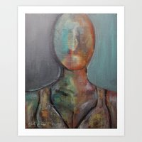 FACELESS VI Art Print