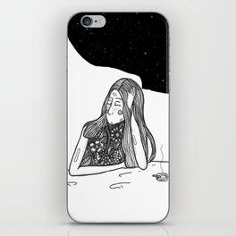 Thinking iPhone Skin