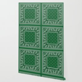 Classic Green Bandana Wallpaper