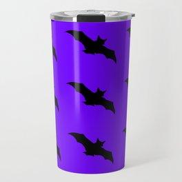 Bat Pattern Travel Mug