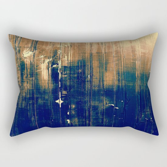 Vintage Dark Rectangular Pillow
